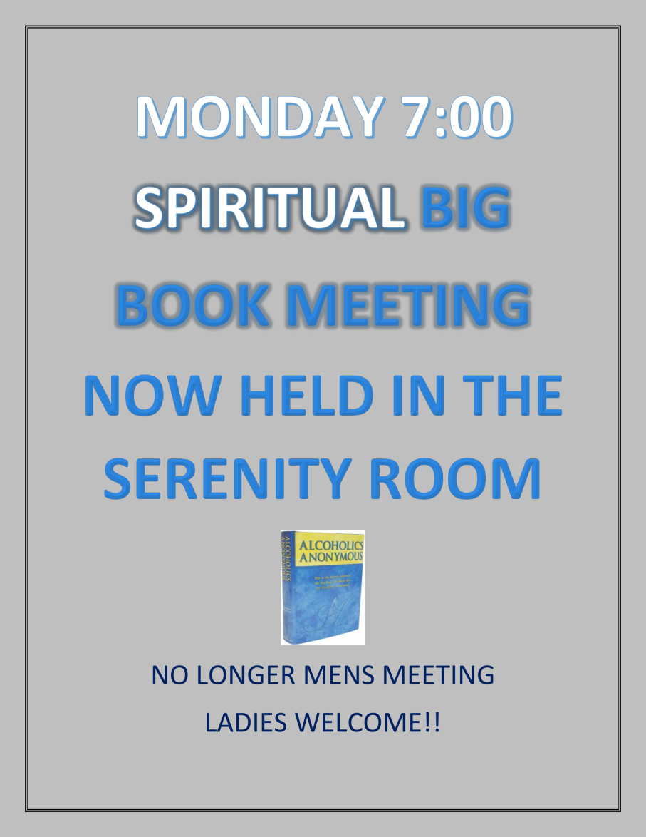 bb meeting flyer